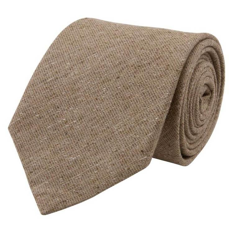 Slips beige silk/linne/bomull