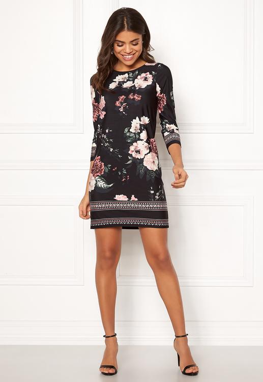 Blenda Dress Patterned / Black