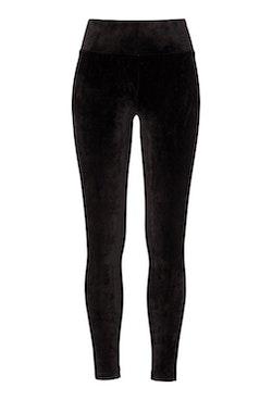 Reese Velour Pants Black