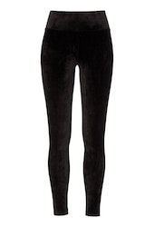 Reese Velour Pants Black