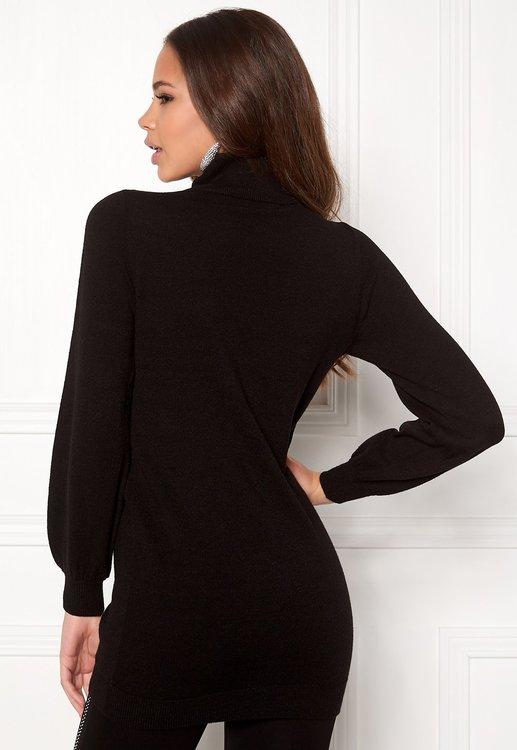 Melanie Long Sweater Black / White
