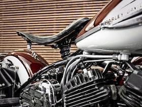 Old Harley Davidson  / Fotografi
