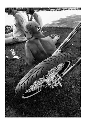 Front wheels / Poster Fotografi