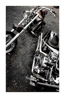 Harley Davidson / Poster Fotografi