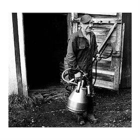 Mjölkbonden i Djäkneboda / Poster Fotografi