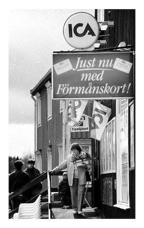 ICA Bygdeå 1994 / Poster Fotografi