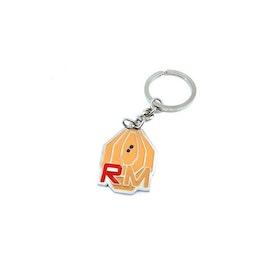IPSC RangeMaster keychain - metal