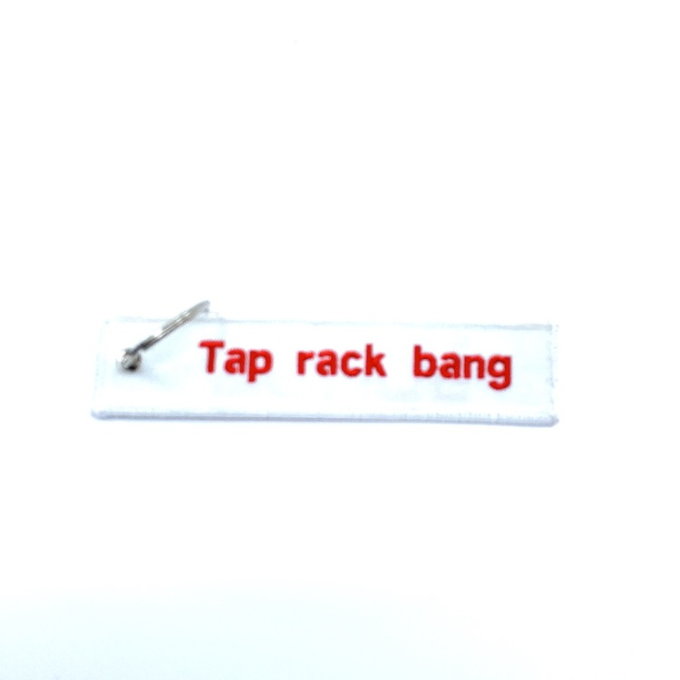 Keychain - Tap Rack Bang