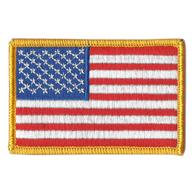 USA flag patch - Velcro