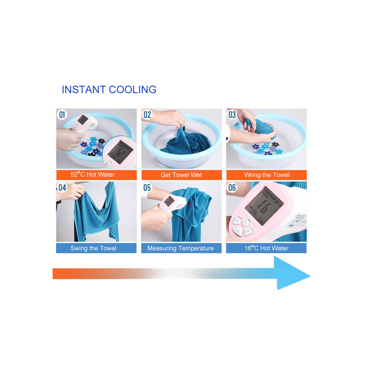 RangeMaster - Cooling towel