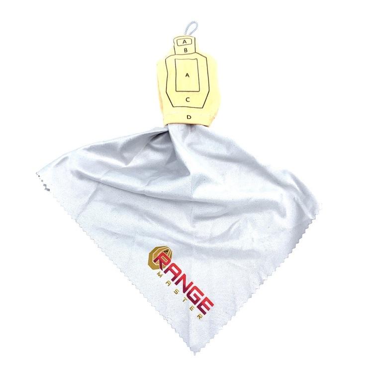 USPSA (Metric) Target Lens cleaning cloth