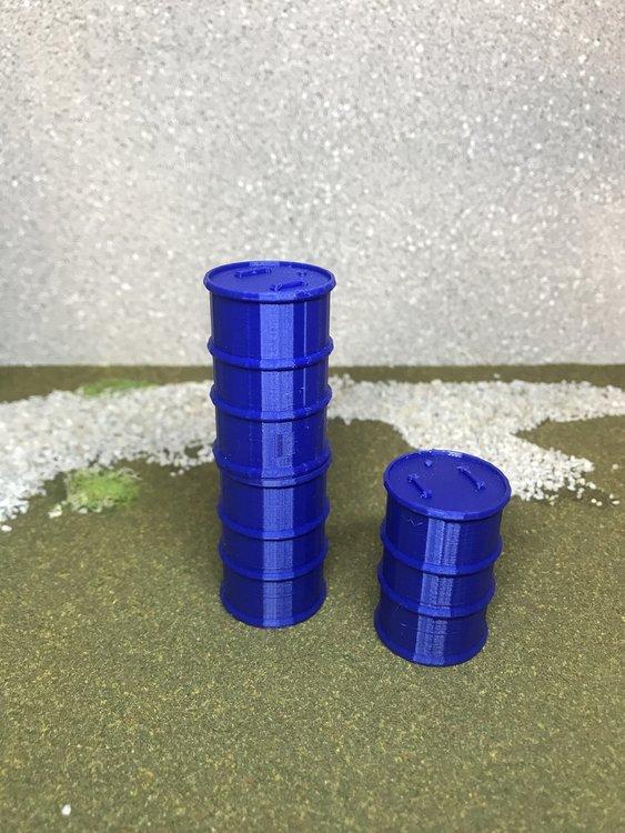 3D Stage Builder -   Barrels