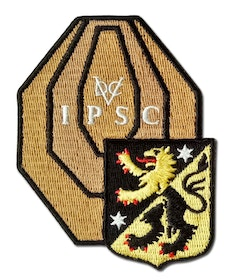 Rangemaster Östergötland County weapon Target - Patch