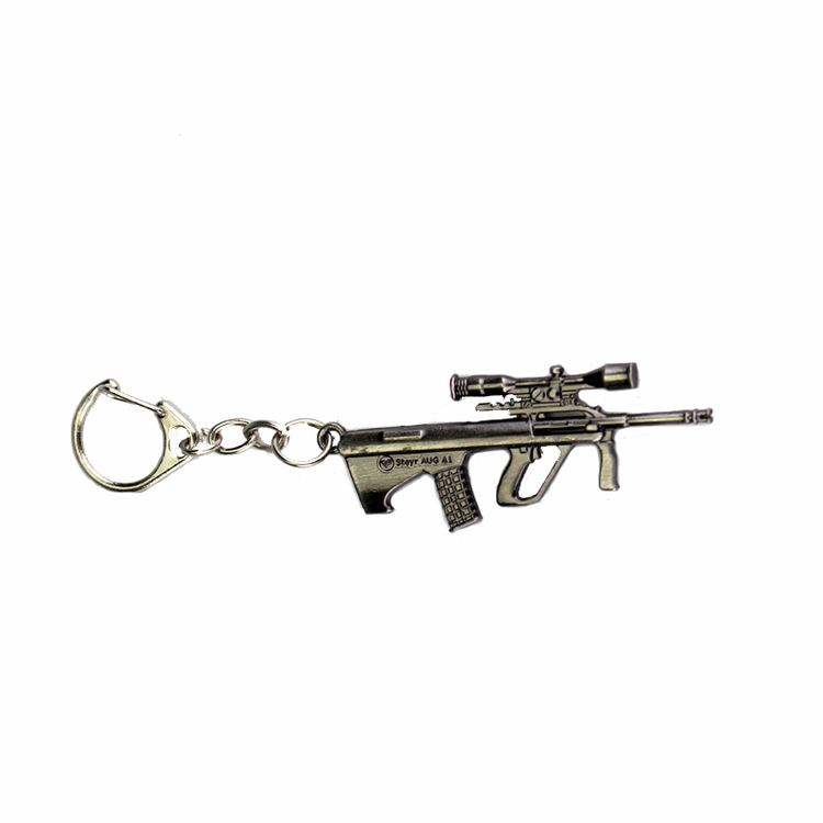 Keychain with guns - different variants