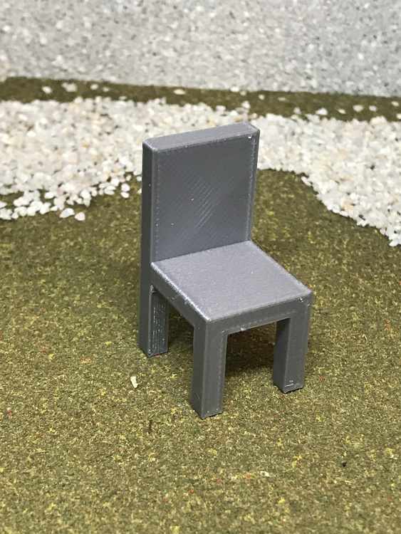 3D Stage Builder - chair
