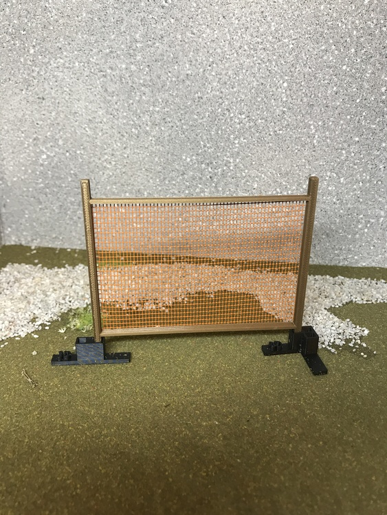 3D Stage Builder - IPSC 240cm/8ft wall