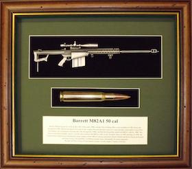 Wallmounted 1/6 rifle