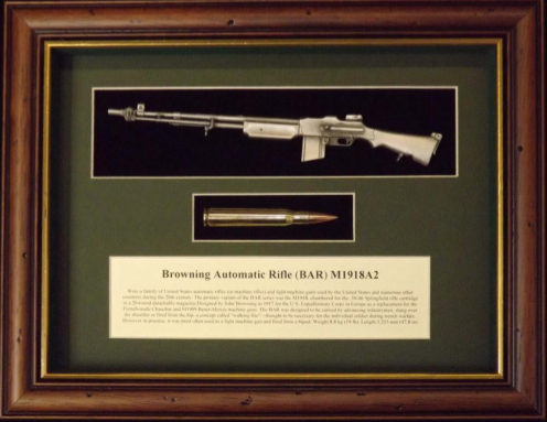Wallmounted 1/6 rifle