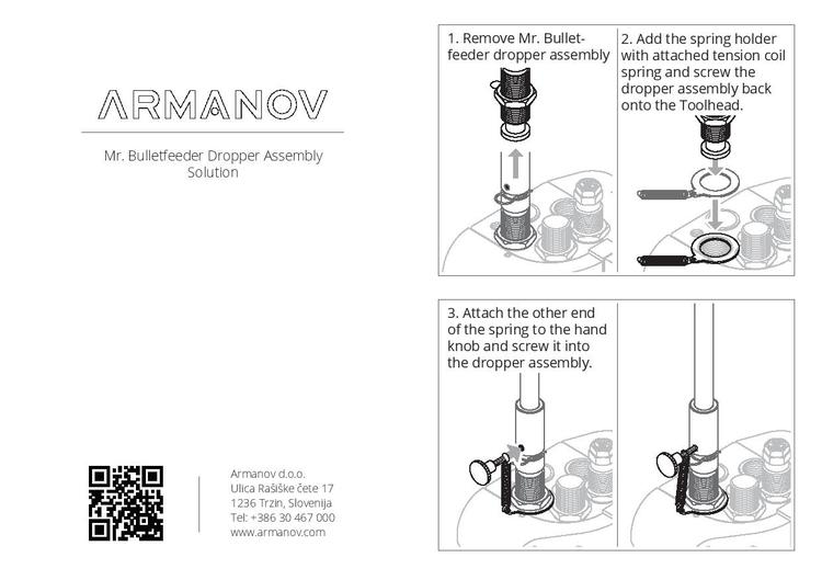 Armanov - Dropper Assembly Solution for Mr. Bulletfeeder