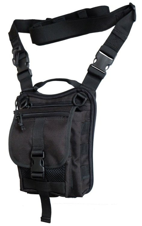 Falco - Shoulder bag with concealed pistol holster - (519 MK3)