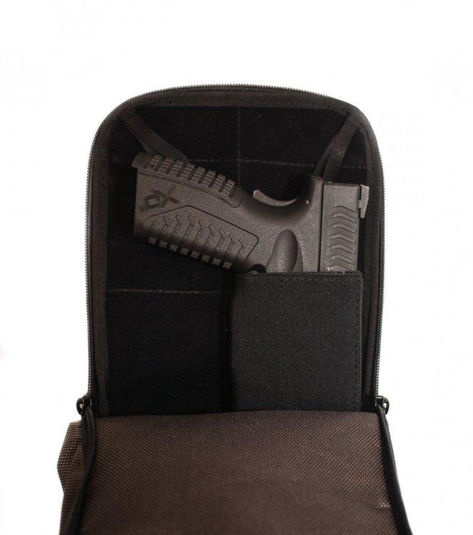 Falco - Shoulder bag for concealed gun transport - (537)