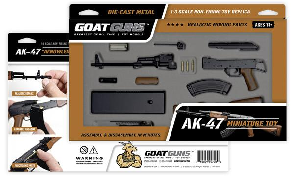 GoatGuns - Mini AK47 - Black