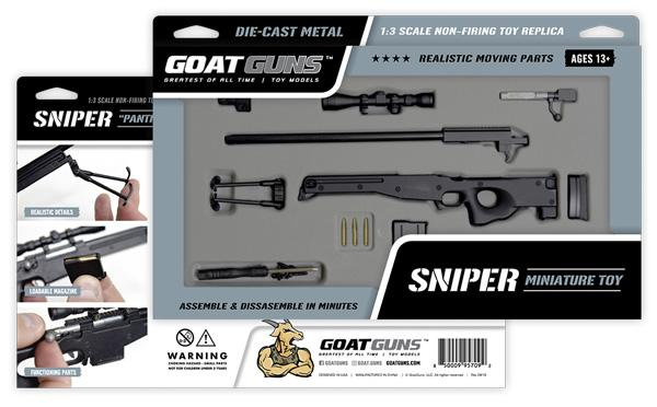 GoatGuns - Mini Sniper - Black