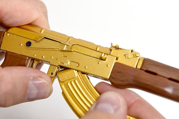GoatGuns - Mini AK47 - Gold