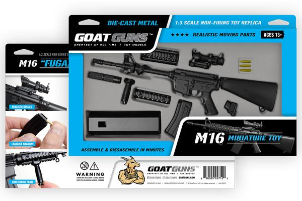 GoatGuns - Mini M16