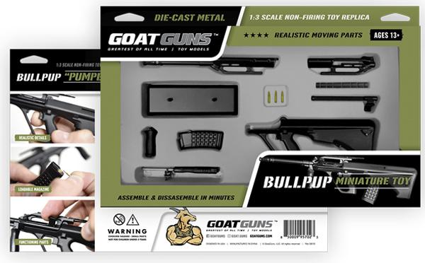 GoatGuns - Mini Bullpup