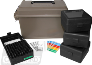 MTM 9mm Ammo Can for 1000 rd. (incl.10x P-100-9)