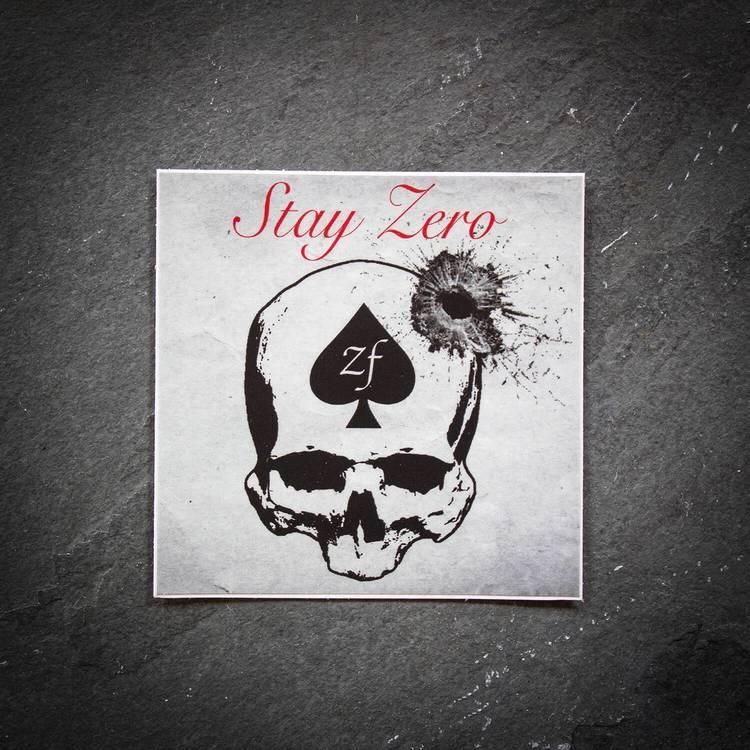 ZF - Stay Zero Foxtrot - Sticker