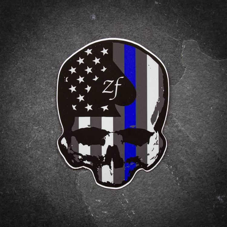 ZF - Blue Line Foxtrot - Sticker