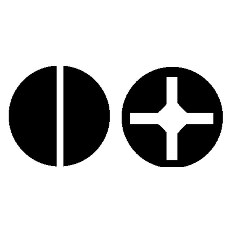 Dibotech Skruvmejselset 6 delar