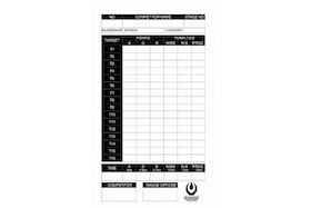 RS - IPSC Score Sheet - 100 Pcs