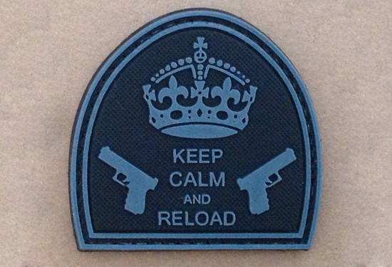 Keep Calm And Reload Patch