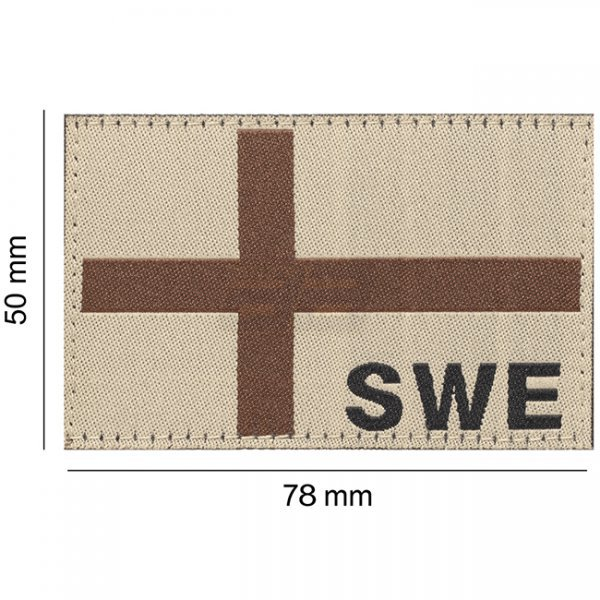 Clawgear - Sweden Flag Desert Patch