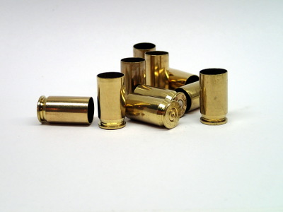 Once-fired brass