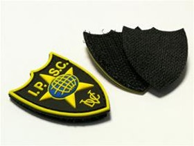 IPSC Pvc Velcro patch