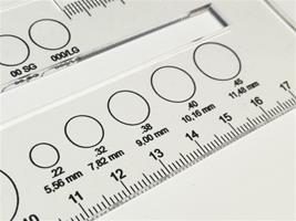 IPSC Scoring Overlay Gauge & Measurement