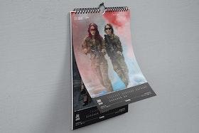 Gunfire Girls 2020 Calendar