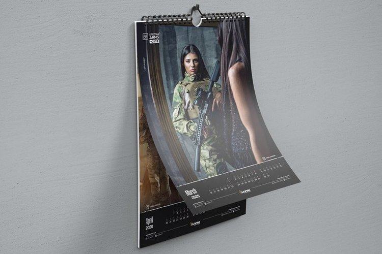 Gunfire Girls 2020 Calendar