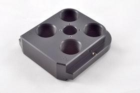 Armanov - Dillon Precision RL550 Free-Float, Zero-Play Toolhead made from Aluminum CNC