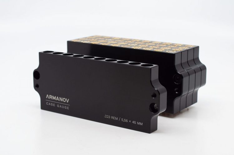 Armanov - Case Gauge .223 REM 10 rnd Stackable