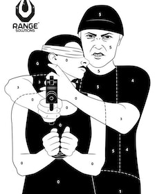 Hostage Target - 50 Pieces