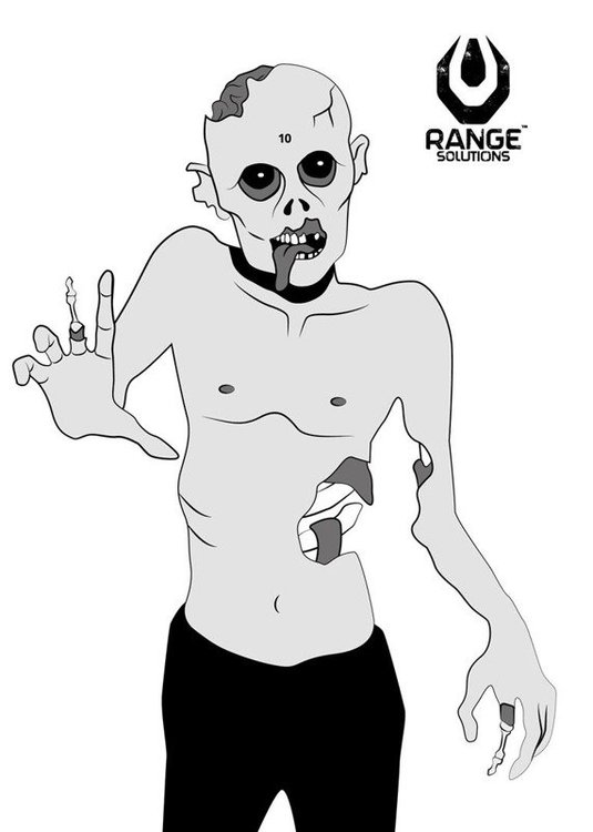 """RS - """"Zombie"""" Shooting Targets"""