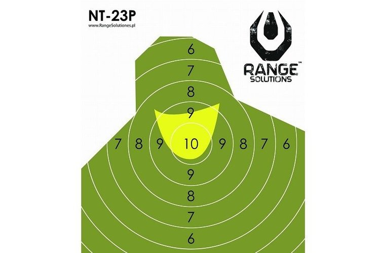 RS - Mini Soldier Silhouette Shooting Target