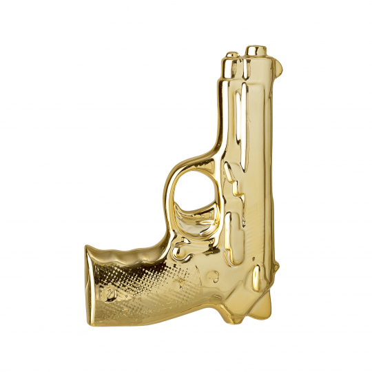 Gun bud vase