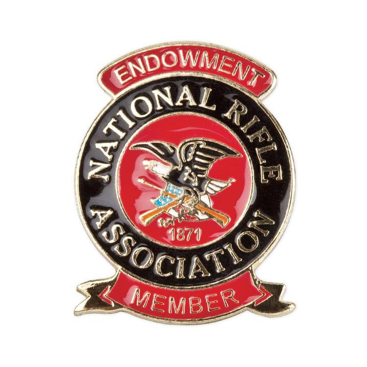 NRA Pride jumbo color membership pins