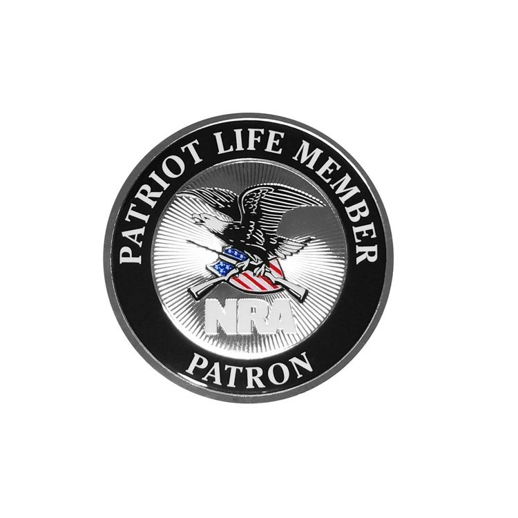 NRA Patriot life member decals